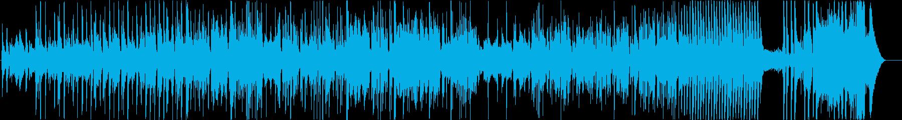 ウォーキングブルース。ハーモニカソ...の再生済みの波形
