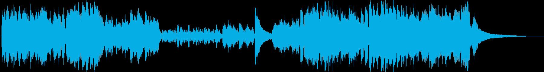 寒気立つ最凶の狂気ピアノの再生済みの波形