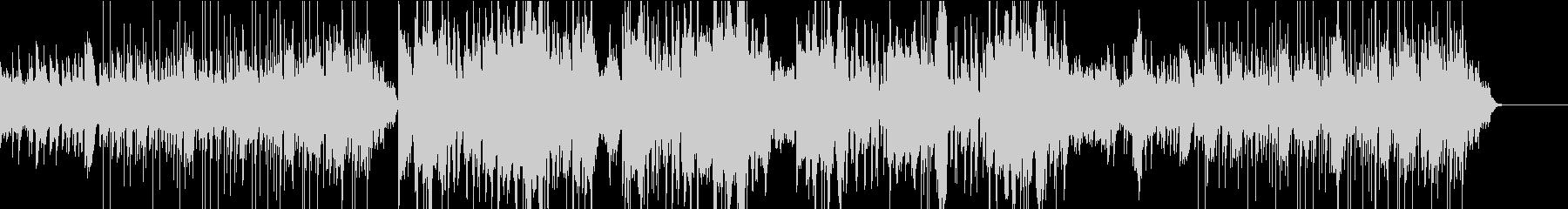 美しいハープのBGMの未再生の波形