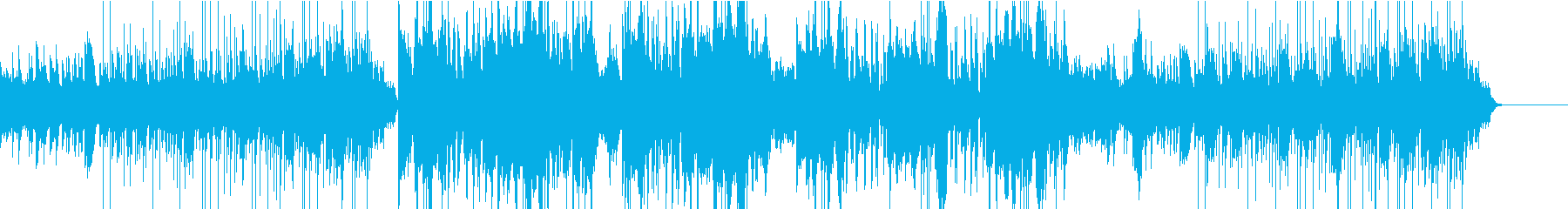 美しいハープのBGMの再生済みの波形
