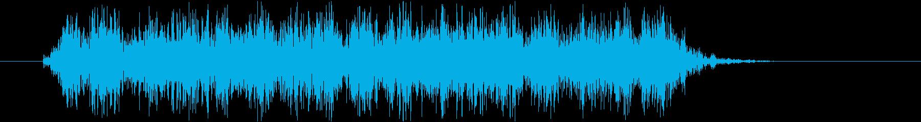 ヒュンヒュンヒュン(武器を回す、回転音)の再生済みの波形