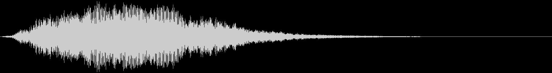 【ホラー】SFX_38 出陣の未再生の波形