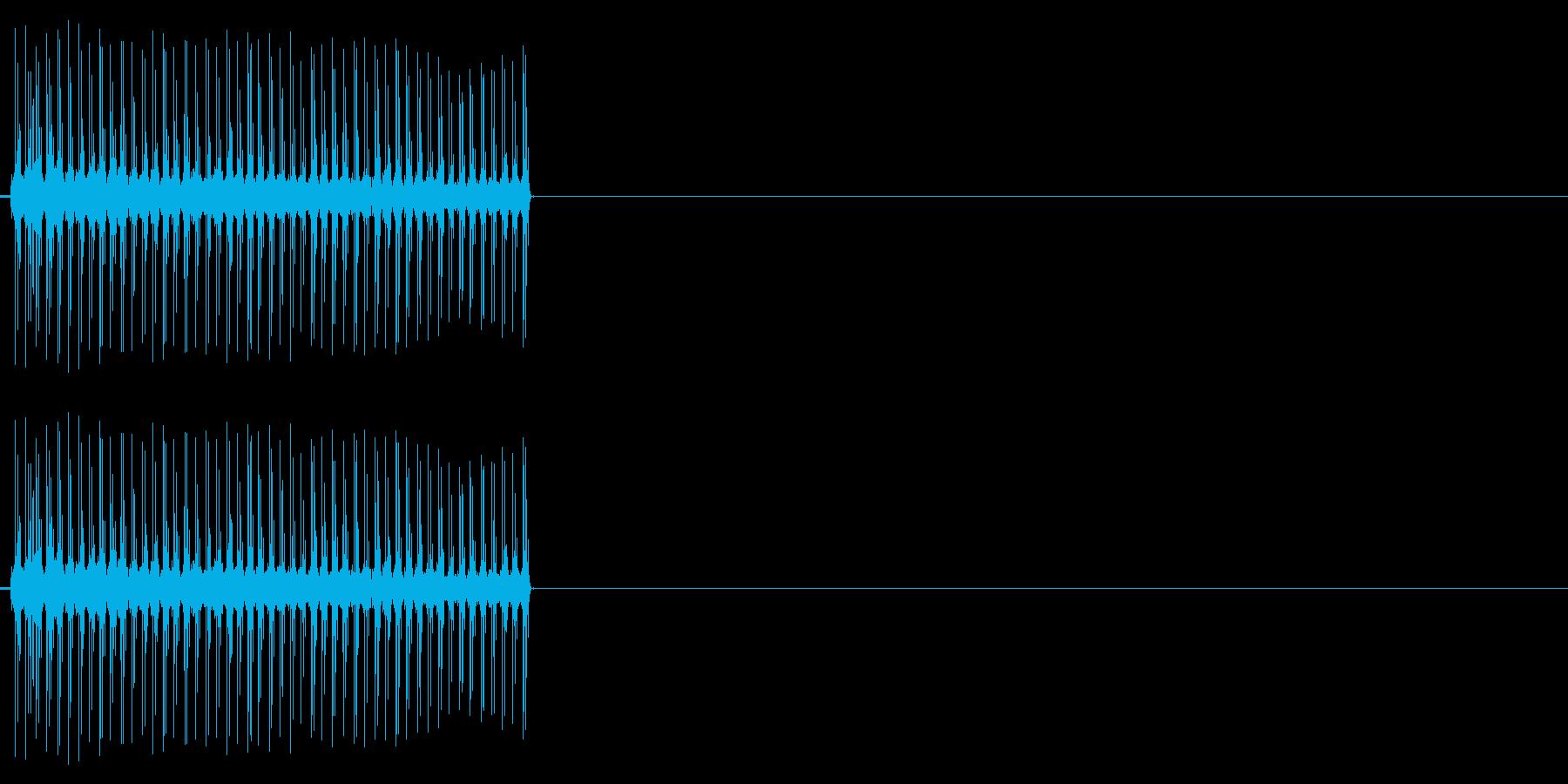 ビリビリ!電撃・感電の音!2ミドルの再生済みの波形