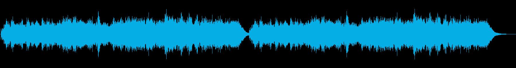 ジブリ風のバグパイプのメルヘンの世界の再生済みの波形