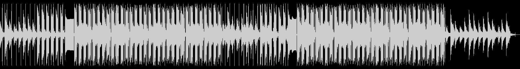 サックスソロのチル・ヒップホップの未再生の波形