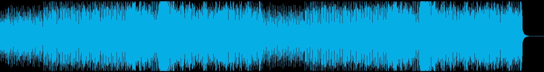 リズミカルなフルートが特徴的な民族系音楽の再生済みの波形