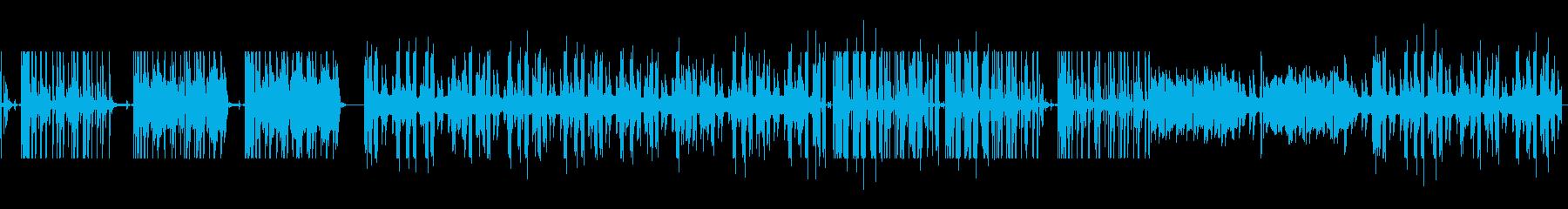 変則リズムで混沌としたサウンドの再生済みの波形