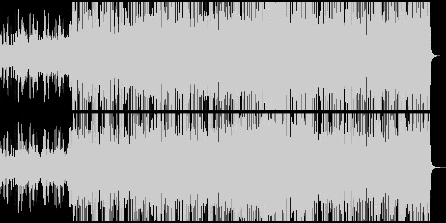 サックスが響くエレクトロポップの未再生の波形