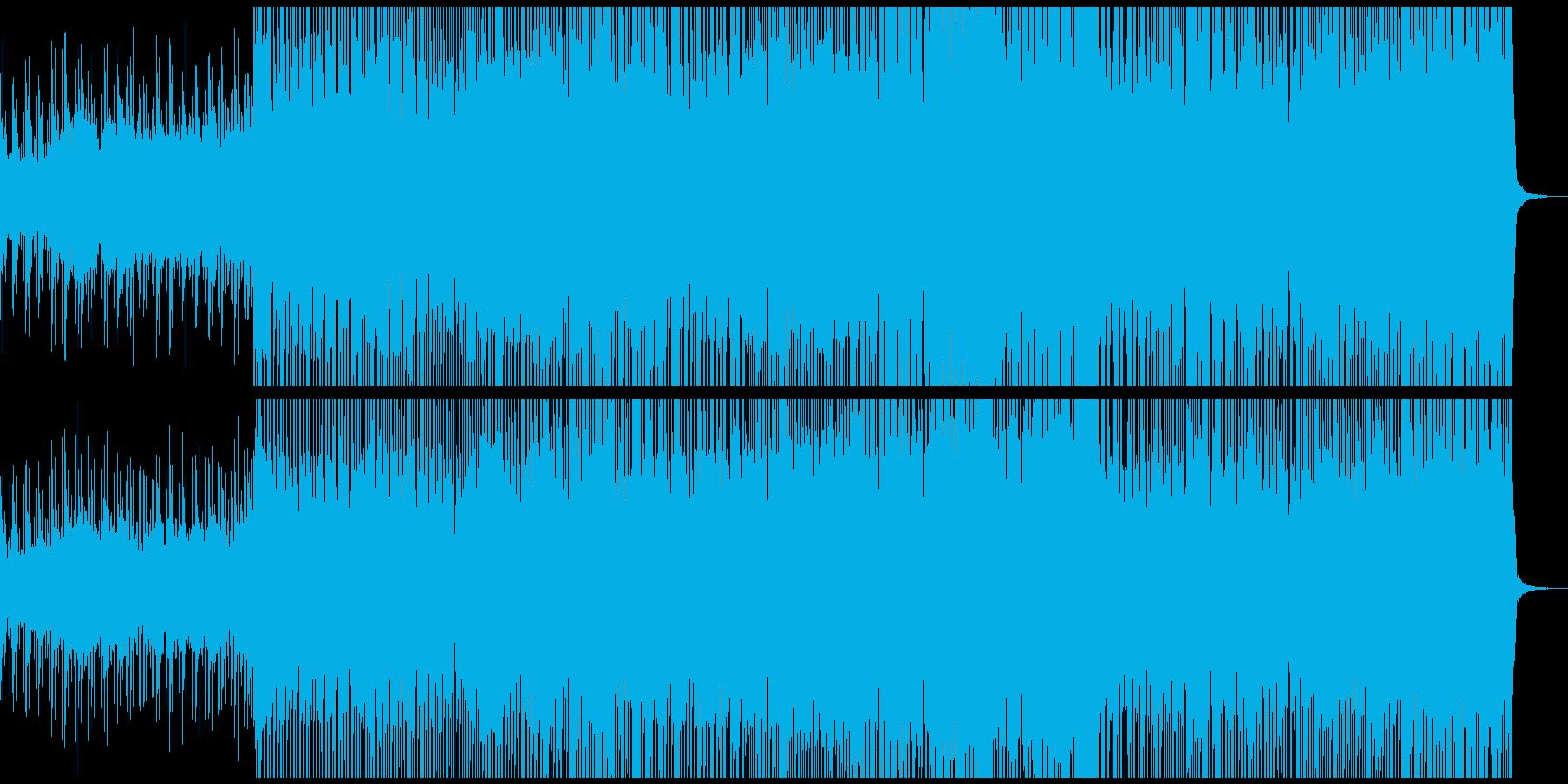 サックスが響くエレクトロポップの再生済みの波形