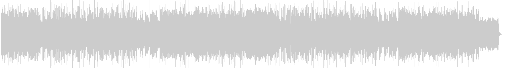 疾走感、勢いのあるハード曲 BGM263の未再生の波形