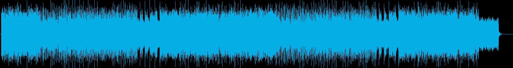 疾走感、勢いのあるハード曲 BGM263の再生済みの波形