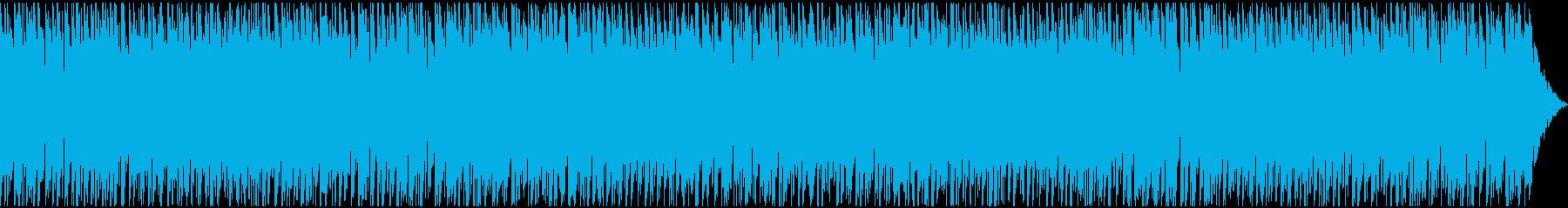 解説系動画のBGMに!ポップEDMハウスの再生済みの波形