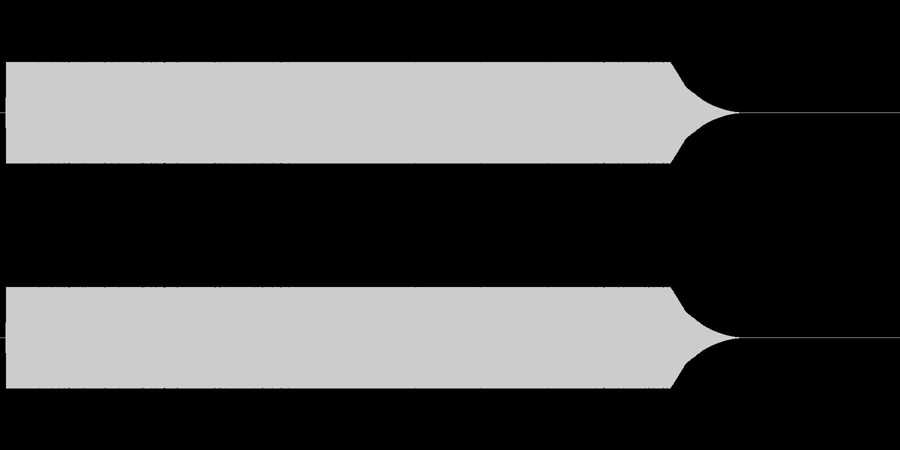 ヒューン(落下する音)の未再生の波形
