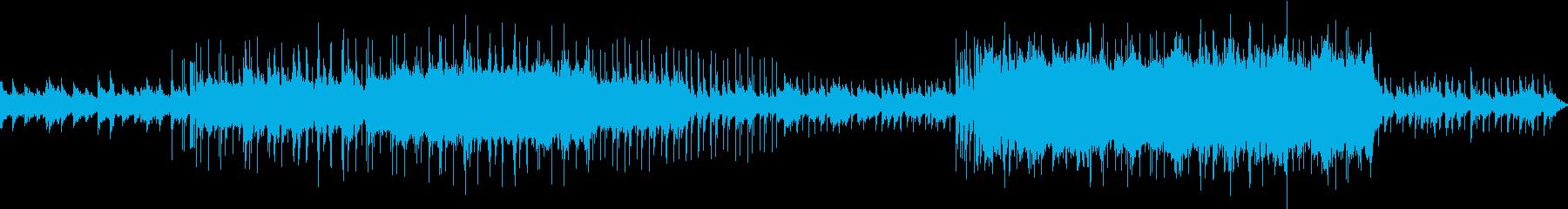 臨場感があり心が落ち着くチル系ハウス2の再生済みの波形