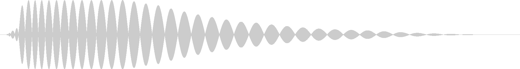 ドンッ【衝突・壁・行き止まり】の未再生の波形
