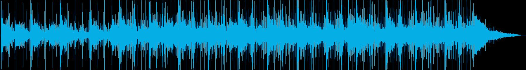 エキゾチックなアフリカンBGMの再生済みの波形