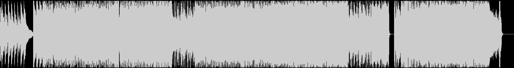 爽やかな疾走感のあるバンドサウンドポップの未再生の波形