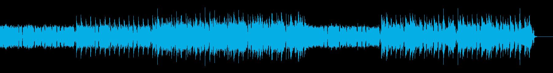 ヴィンテージ風ロックの再生済みの波形