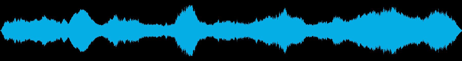 ドラマチックな金属アンサンブルの再生済みの波形