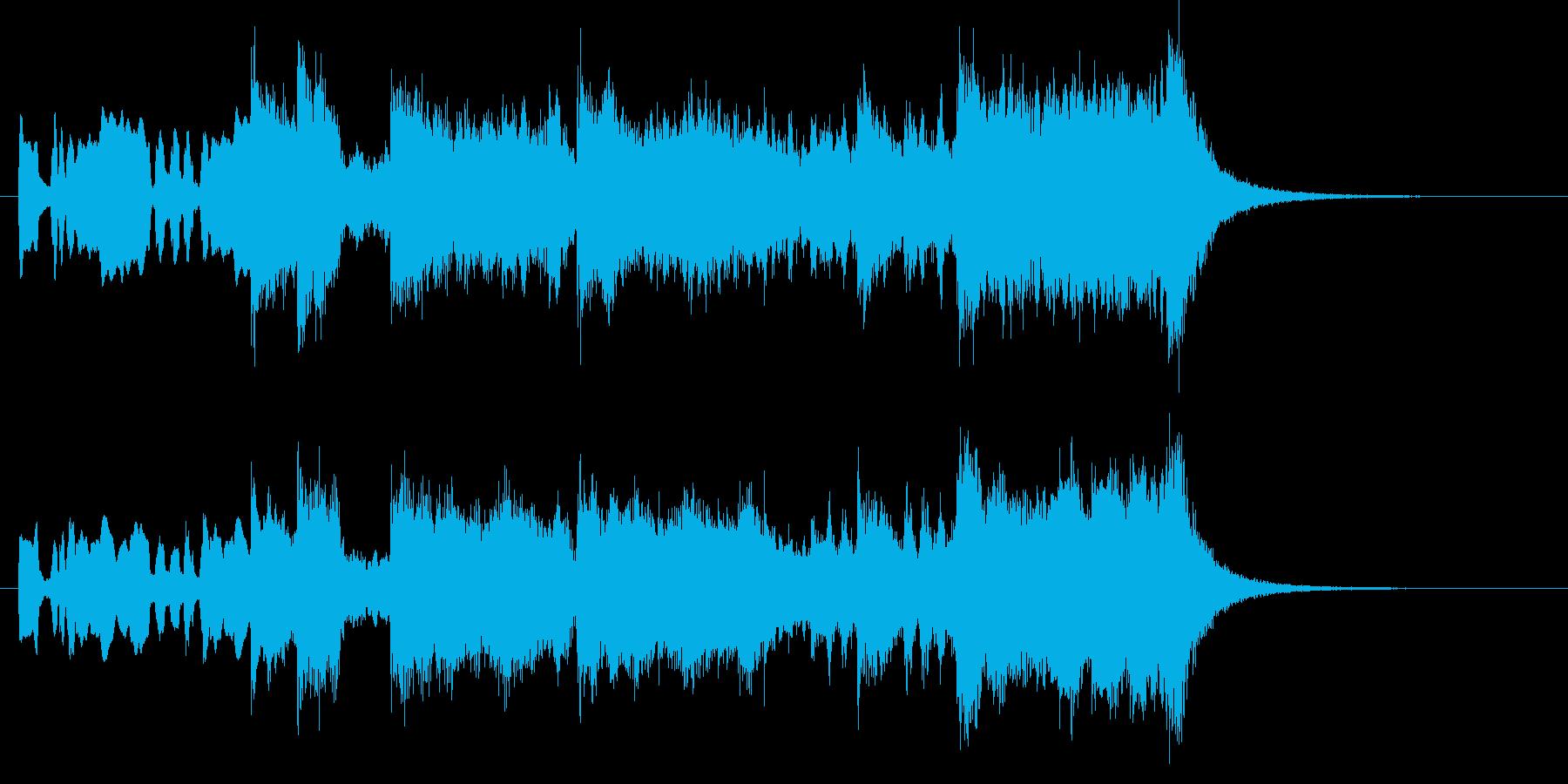 重厚なファンファーレ・ゲームや賞の発表にの再生済みの波形