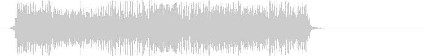 激情的なパンクサウンド#02(ジングル)の未再生の波形