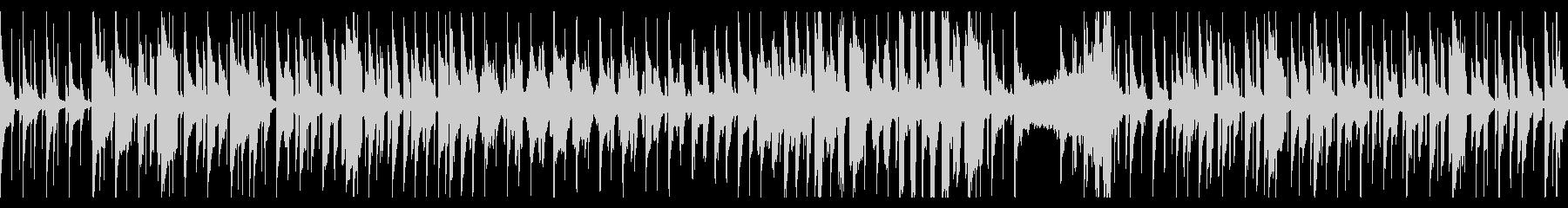 リコーダーがメインの脱力系の曲の未再生の波形