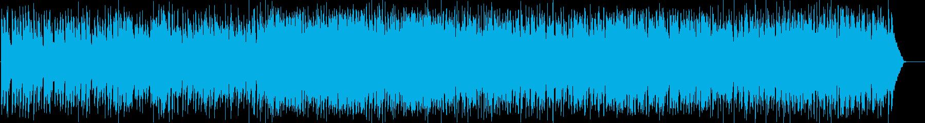 軽快でウキウキするカントリーの再生済みの波形