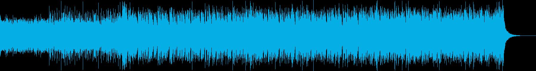 速いピアノ_ストリングス_クール_疾走の再生済みの波形