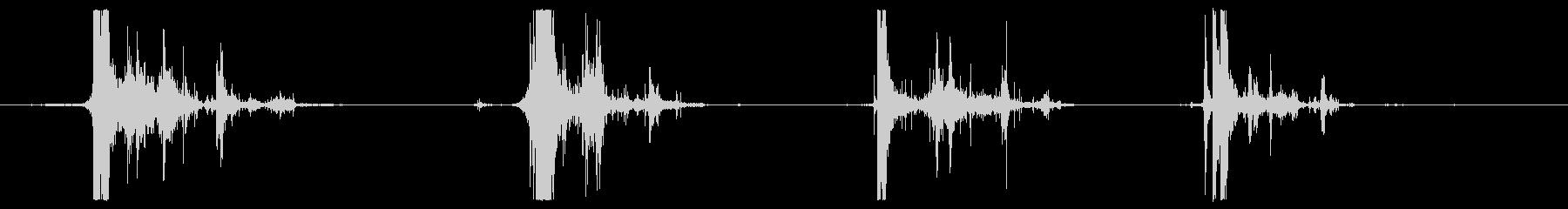 セメントのロールの未再生の波形