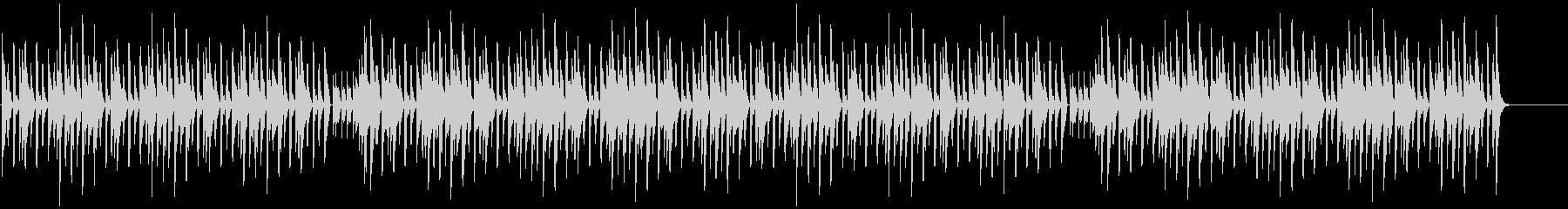 グルービーなリズムのシンプルなリフの未再生の波形
