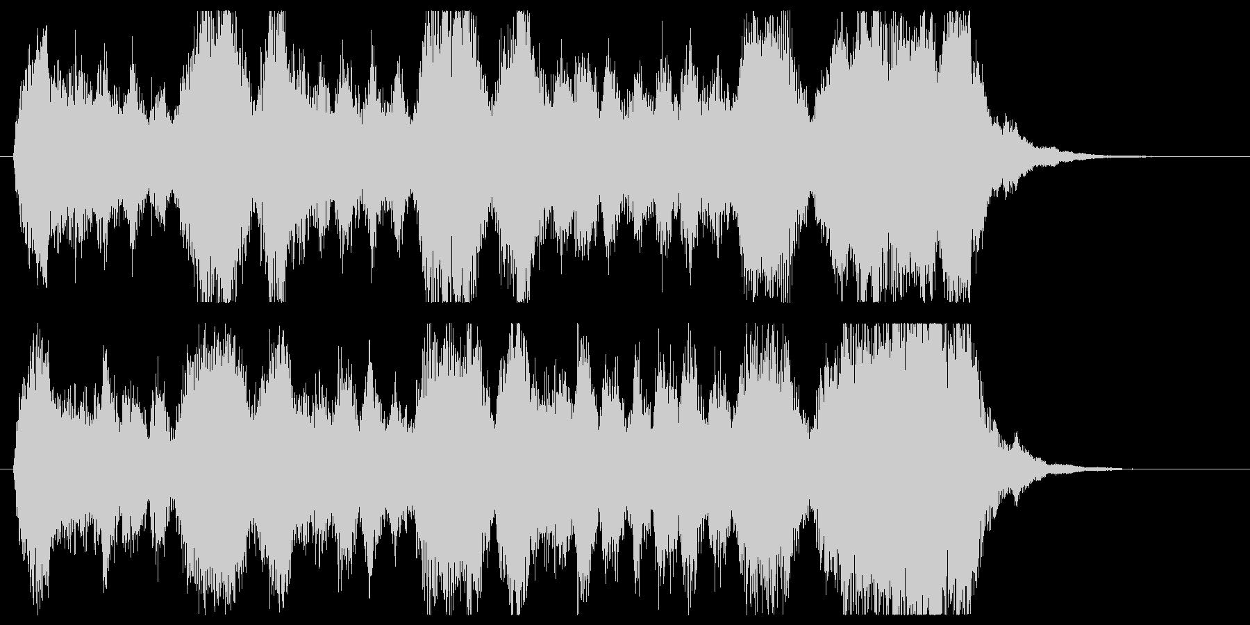金管の荘厳なファンファーレ/パターンBの未再生の波形