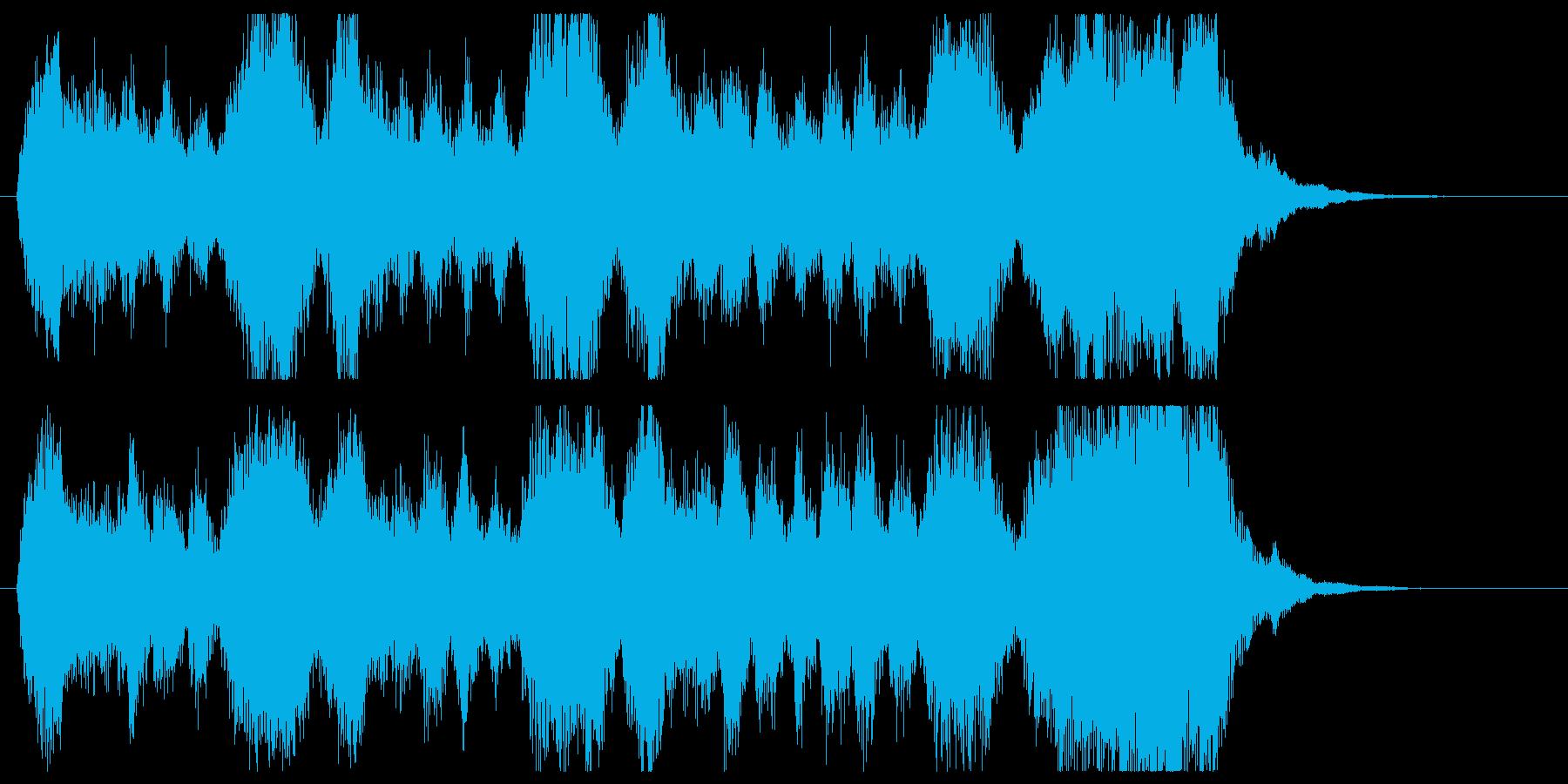 金管の荘厳なファンファーレ/パターンBの再生済みの波形