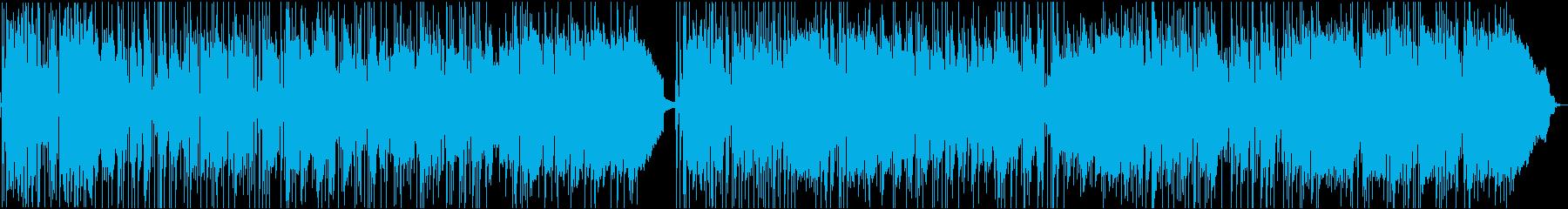 洋楽AORの再生済みの波形