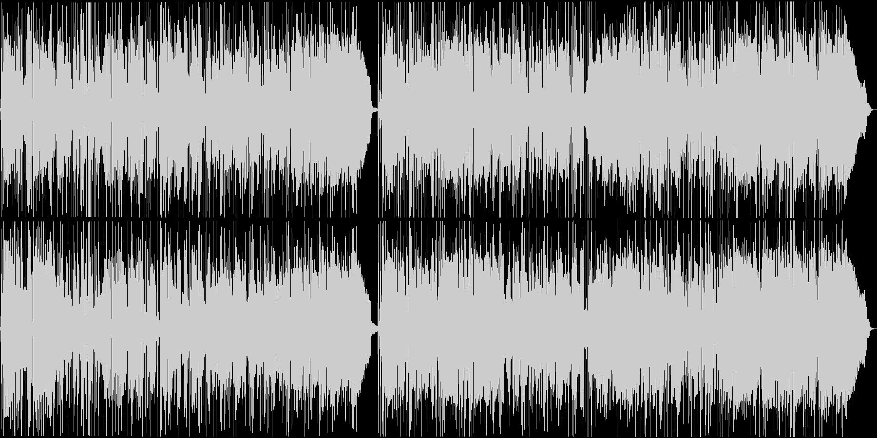 洋楽AORの未再生の波形
