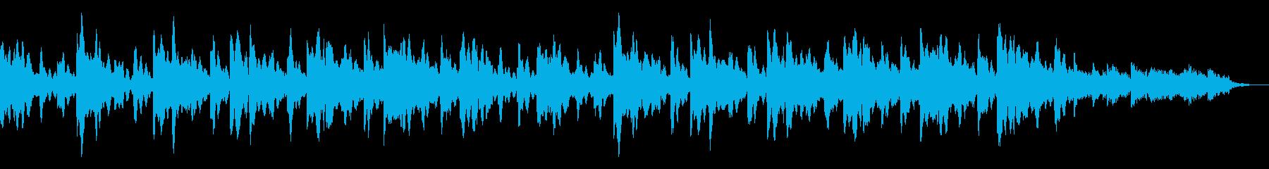 冬の訪れのような幻想的なBGMの再生済みの波形
