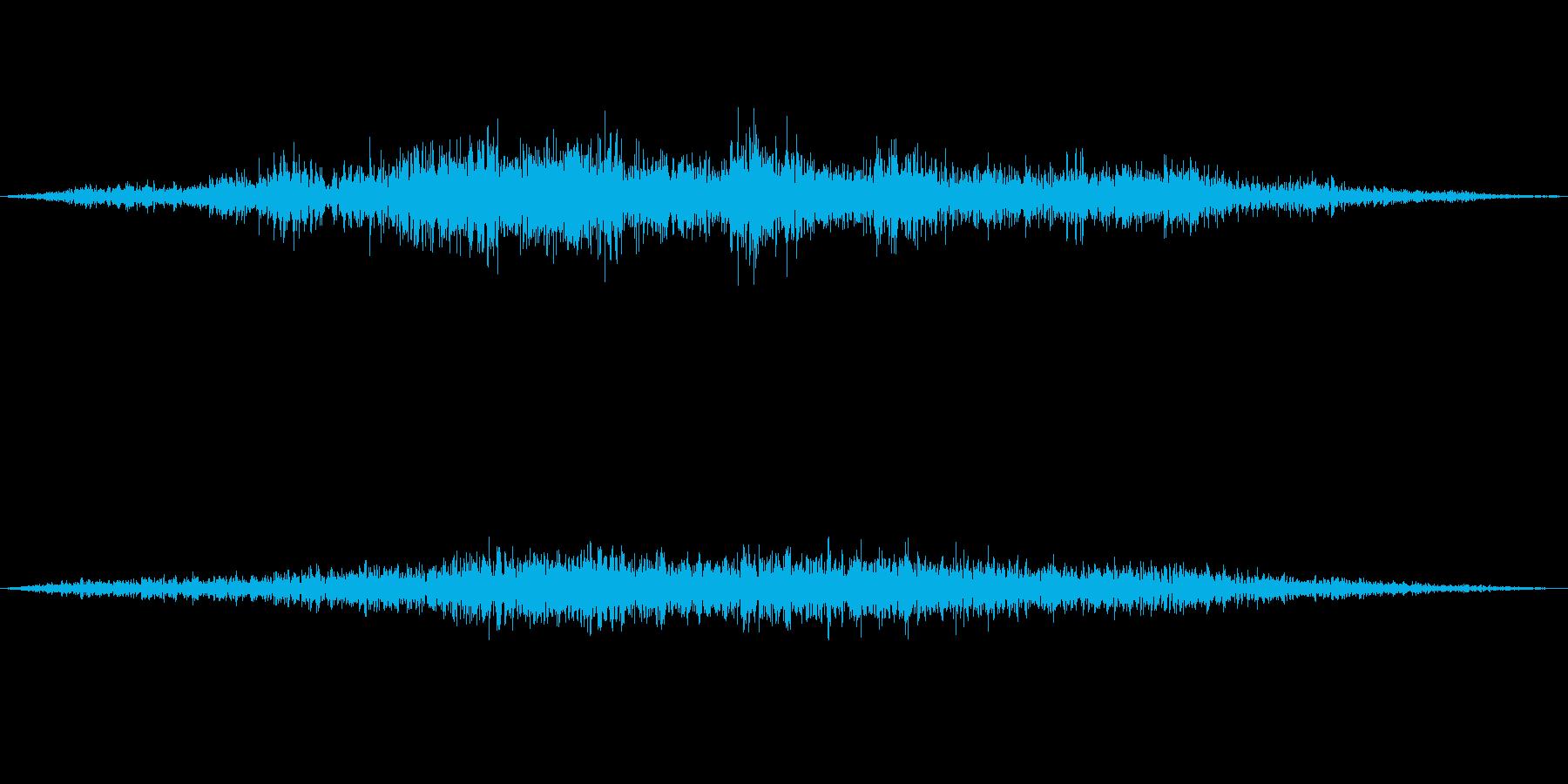 観客の笑い声(大人しめ)の再生済みの波形
