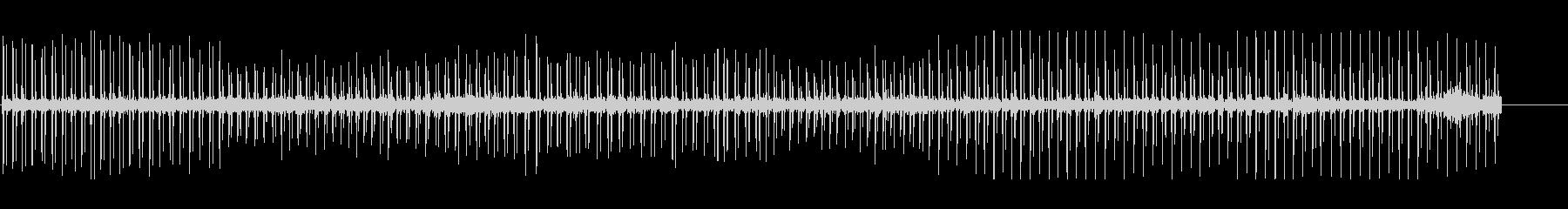 ハートビート、変動。の未再生の波形