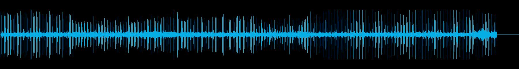 ハートビート、変動。の再生済みの波形