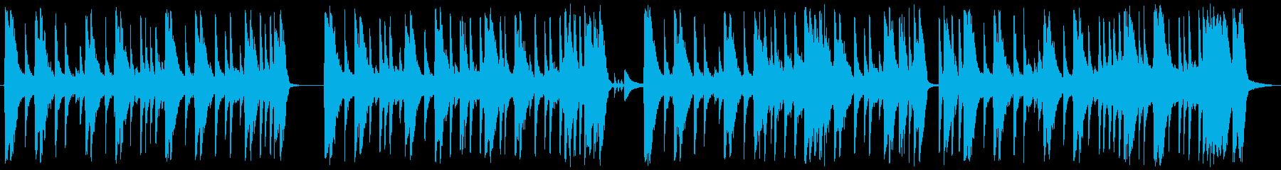 スローでヘビーなバンドサウンドの再生済みの波形