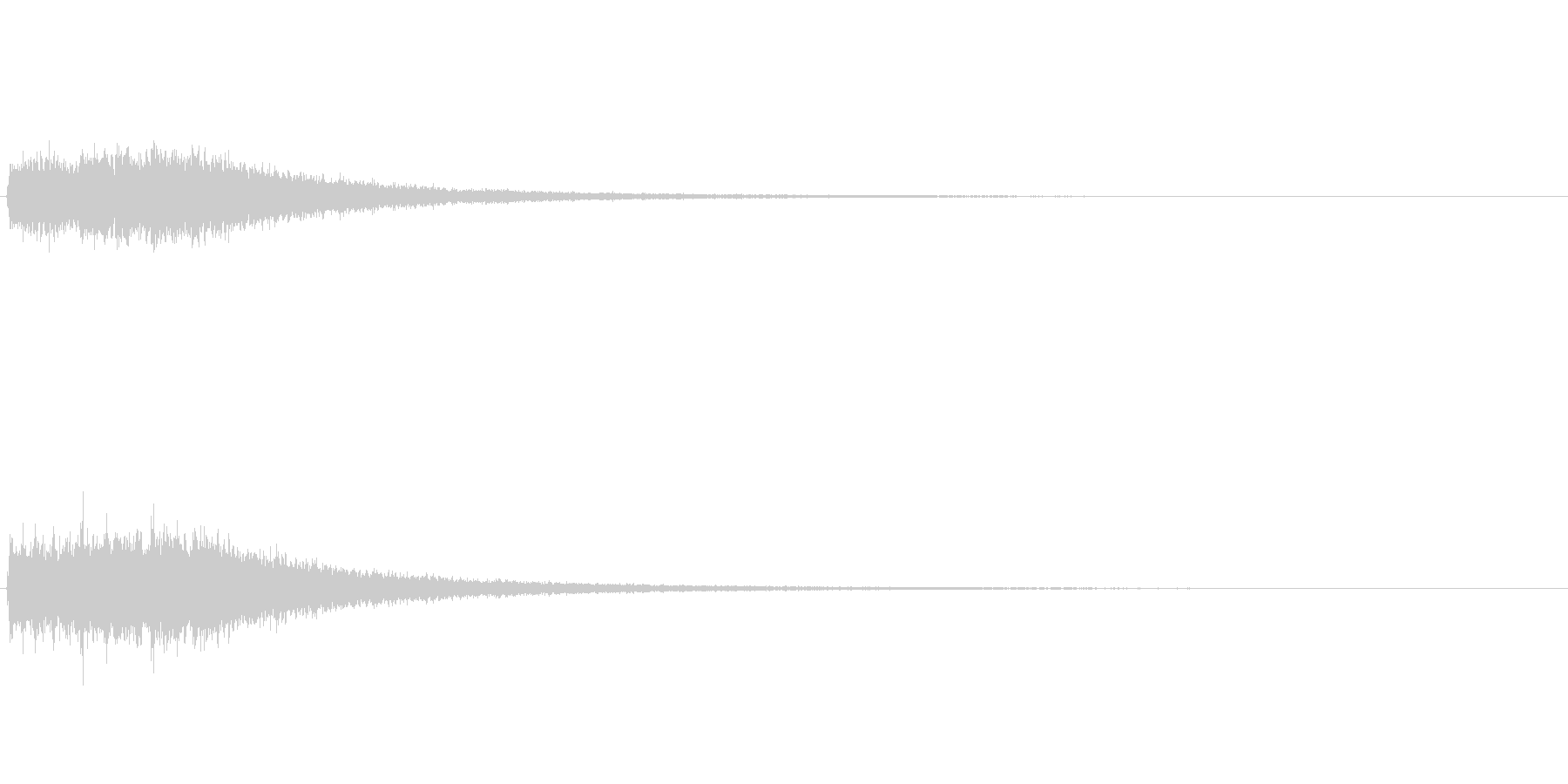 【パンパパン】クラッシュシンバルで連打の未再生の波形