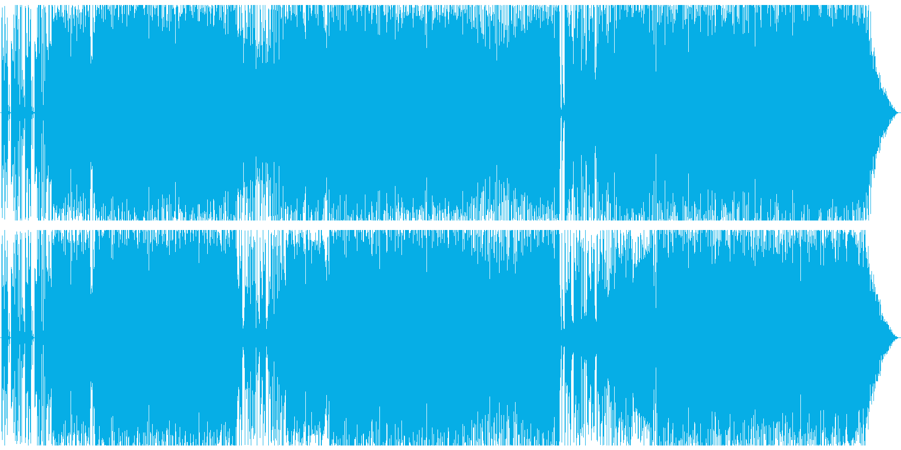 少し陰のあるポップス の再生済みの波形