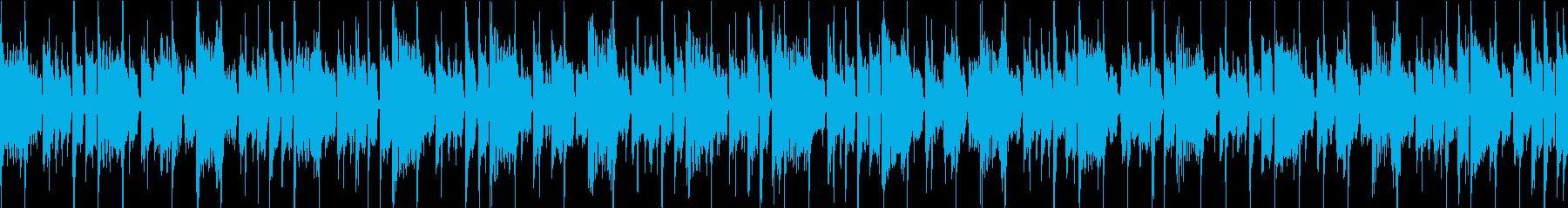 オシャレでダンサブルなファンク ループの再生済みの波形
