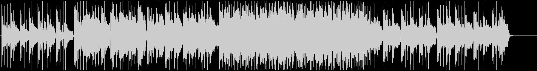 ケルト風の牧歌的なBGMの未再生の波形