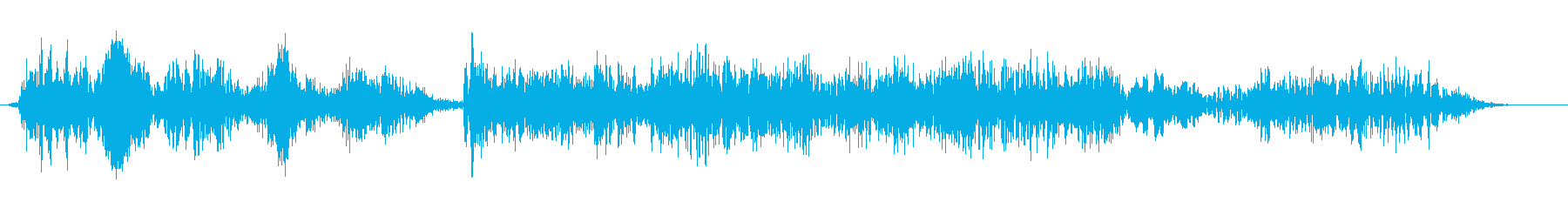 welcome2の再生済みの波形