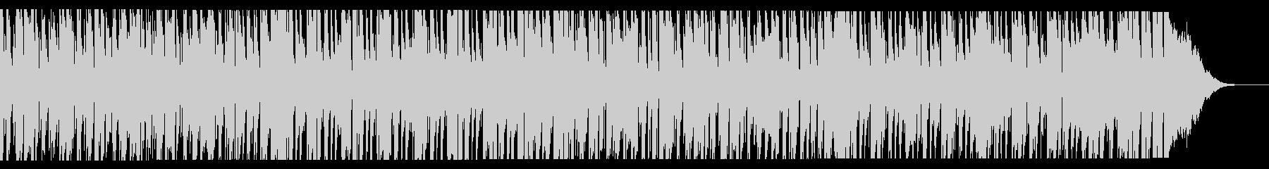 生音系・南の島の陽気でお気楽なレゲエの未再生の波形
