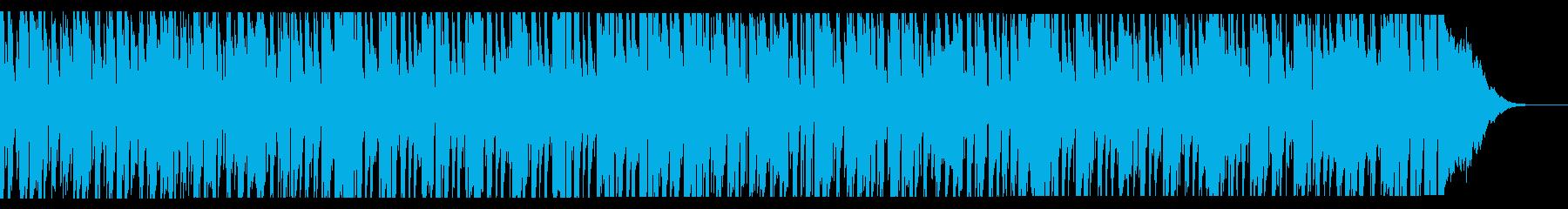 生音系・南の島の陽気でお気楽なレゲエの再生済みの波形