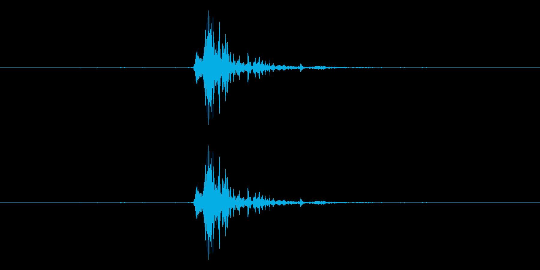 神楽鈴 シャンの再生済みの波形