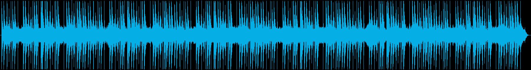 コンガ、ジャンベ、ストリングパッド...の再生済みの波形