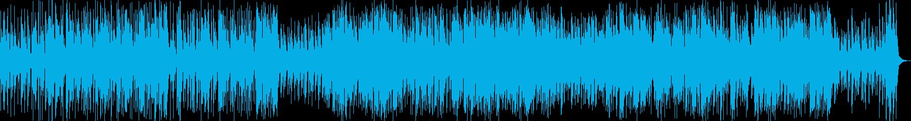 傷心の秋をイメージしたブルージーなジャズの再生済みの波形