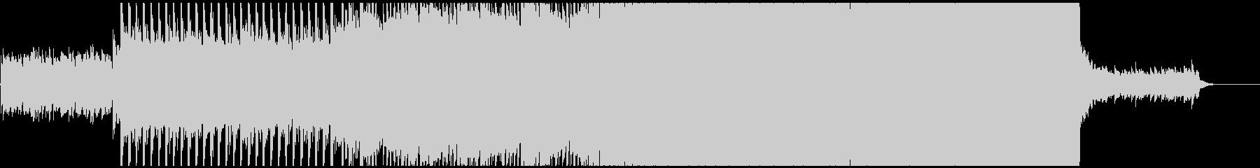 クリーンなエレキギターの響きが楽しめるの未再生の波形